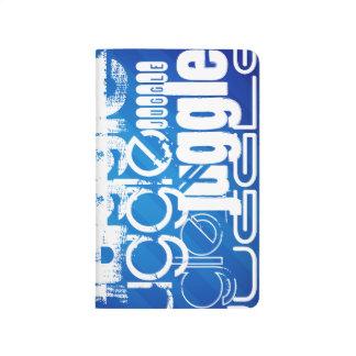 Juggle, Royal Blue Stripes Journal