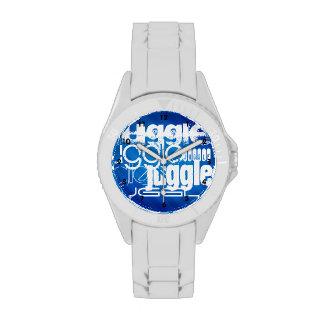 Juggle, Royal Blue Stripes Watch