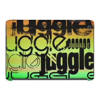 Juggle; Vibrant Green, Orange, & Yellow iPad Mini Covers
