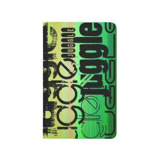 Juggle; Vibrant Green, Orange, & Yellow Journals