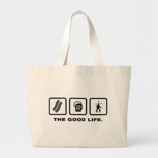 Juggling Canvas Bags