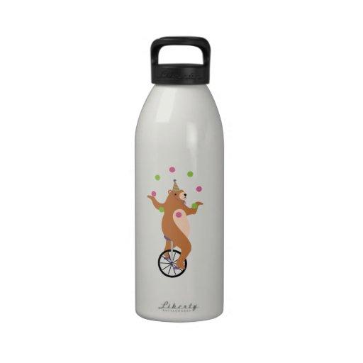 Juggling Bear Water Bottles