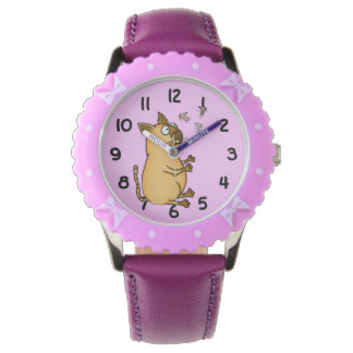 Juggling Cat Wrist Watch