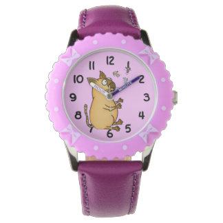 Juggling Cat Wrist Watch