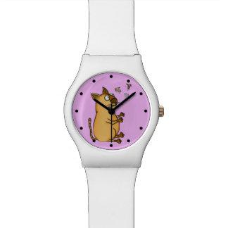 Juggling Cat Wristwatch