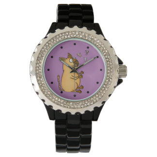 Juggling Cat Wristwatch