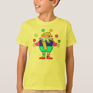 Juggling Clown T-shirts