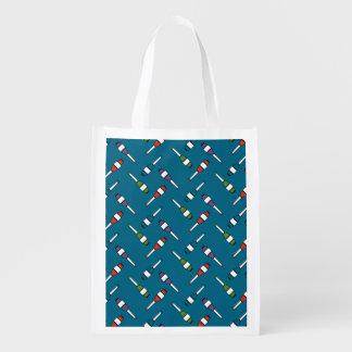 Juggling Club Toss Blue Bag Grocery Bag