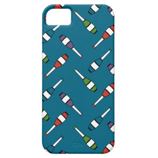 Juggling Club Toss Blue Case For The iPhone 5