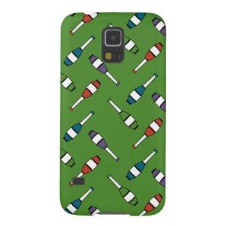 Juggling Club Toss Green Cases For Galaxy S5