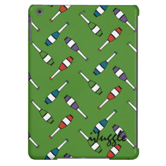 Juggling Club Toss Green iPad Air Covers