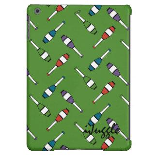 Juggling Club Toss Green iPad Air Covers