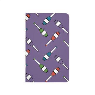 Juggling Club Toss Purple Journals