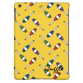 Juggling Club Toss Yellow Case For iPad Air