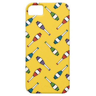 Juggling Club Toss Yellow iPhone 5 Case