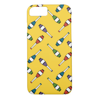 Juggling Club Toss Yellow iPhone 7 Case