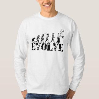 Juggling Juggler Juggle Evolution Sports Art T-Shirt