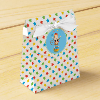 Juggling Monkey | Circus Theme Favor Box