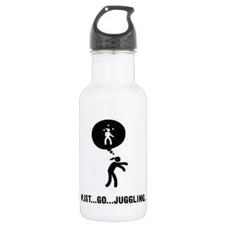 Juggling 18oz Water Bottle