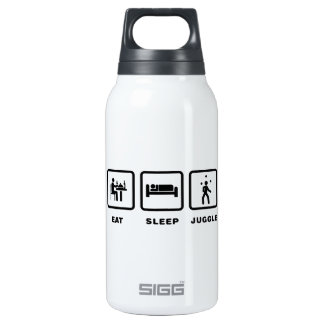 Juggling SIGG Thermo 0.3L Insulated Bottle