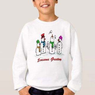 Juggling Snowmen T Shirts