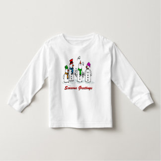 Juggling Snowmen Toddler T-shirt