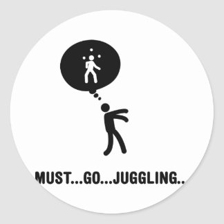 Juggling Sticker