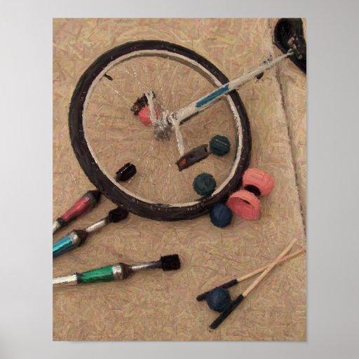 juggling tools poster