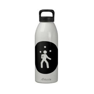 Juggling Reusable Water Bottle