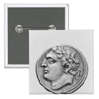 Jugurtha  King of Numidia 2 Inch Square Button