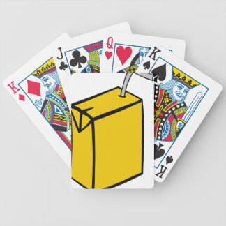 Juice Box Bicycle Playing Cards