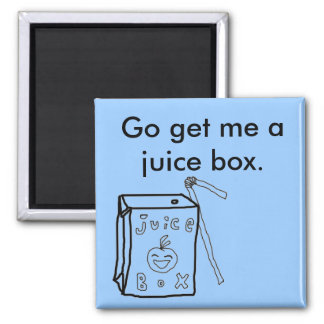 Juice Box Magnet
