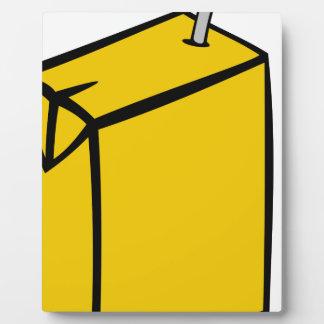 Juice Box Plaque