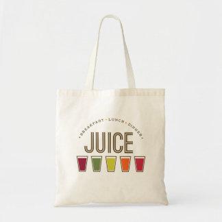 Juice - Breakfast, Lunch & Dinner. Eco Tote