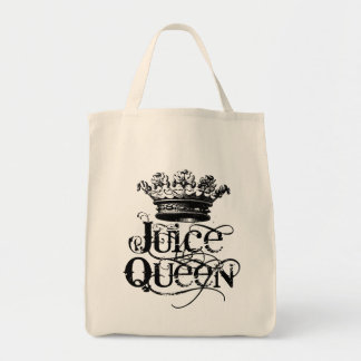 Juice Queen Grocery Tote Bag