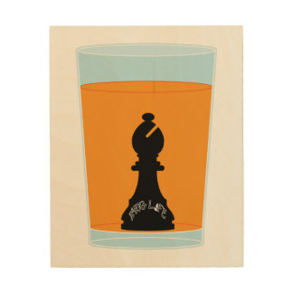 Juice Wood Print