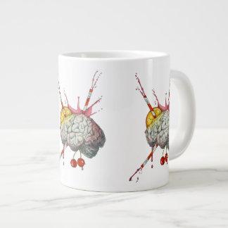 Juicy brain large coffee mug