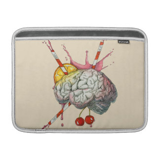 Juicy brain MacBook sleeve