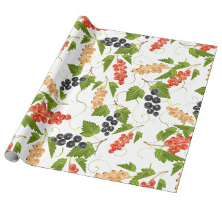 Juicy Currants Wrapping Paper