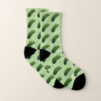 Juicy Dill Pickle Cozy Socks