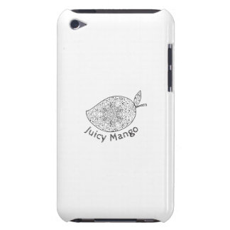 Juicy Mango Black and White Mandala iPod Touch Covers