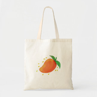 Juicy Mango Fruit Watercolor