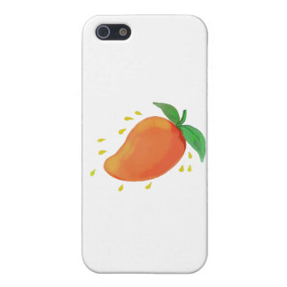 Juicy Mango Fruit Watercolor iPhone 5 Cover