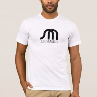 JUICY MUSIC Mens Fitted Tee