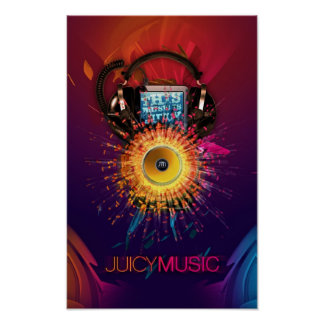Juicy Music Poster 2010