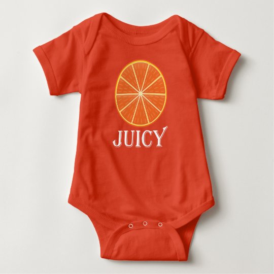 Juicy Orange - Baby Jersey Bodysuit