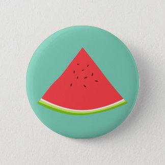 Juicy Watermelon Slice 2 Inch Round Button