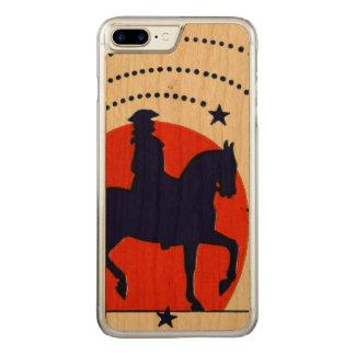 Juillet le Jour de la Déclaration d'Indépendance Coque Carved iPhone 8 Plus/7 Plus