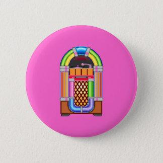 Juke Box 2 Inch Round Button