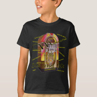 Juke-box fabuleux d'années '50 t-shirt